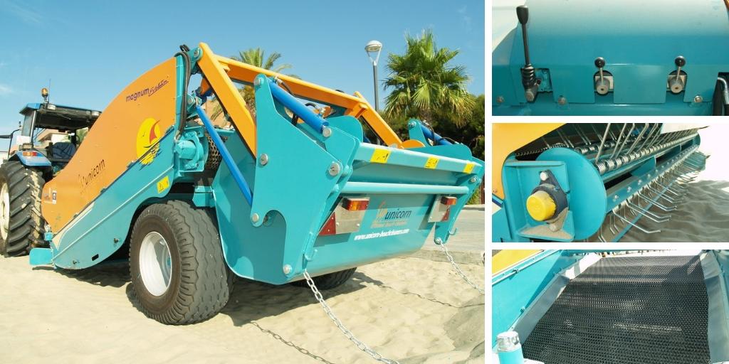 Runner Evolution beach cleaner | Beach
